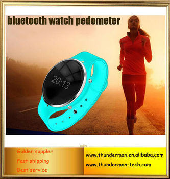 Waterproof Smart Bluetooth Watch Pedometer Anti-lost Remote Voice Call