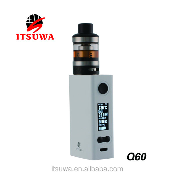 2017 Alibaba itsuwa Q60 Kit electronic cigarette wholesale OEM/ODM