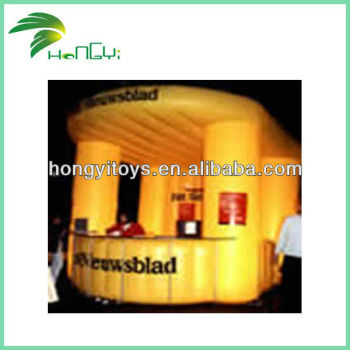 Hot Selling Summer Night Rave Inflatable Dry Bar For Sale