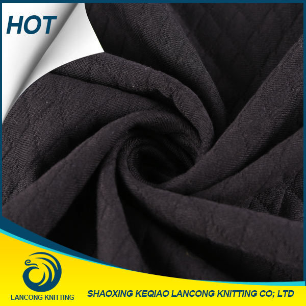 China Manufacturer Knit Polyester stretch jacquard knit fabric