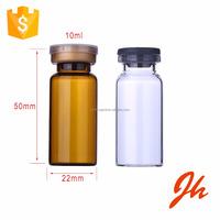 Wholesale amber glass bottle pharmaceutical tubular 10ml glass vial for steroids