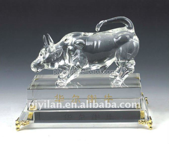 nice animal cattle crystal wedding souvenirs