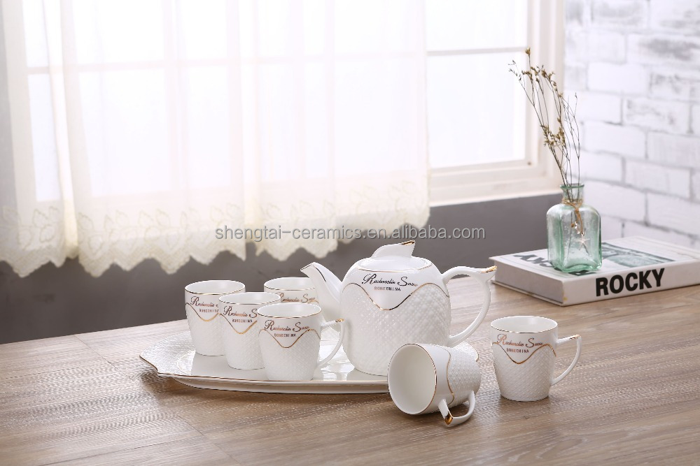 Classic coffee and tea sets for buffet &banquet