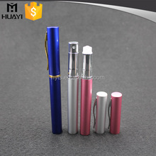 6ml pen shape matte aluminium roll on spray pen for perfume