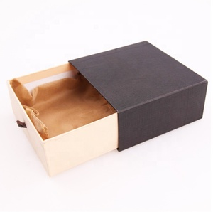 Wholesale custom stackable drawer small gift packaging box