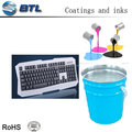 Strong covering power silicone colourful spray for electronic product keyboard