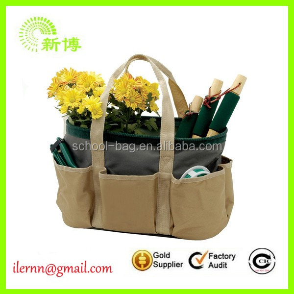 Large capacity garden tools carry bag