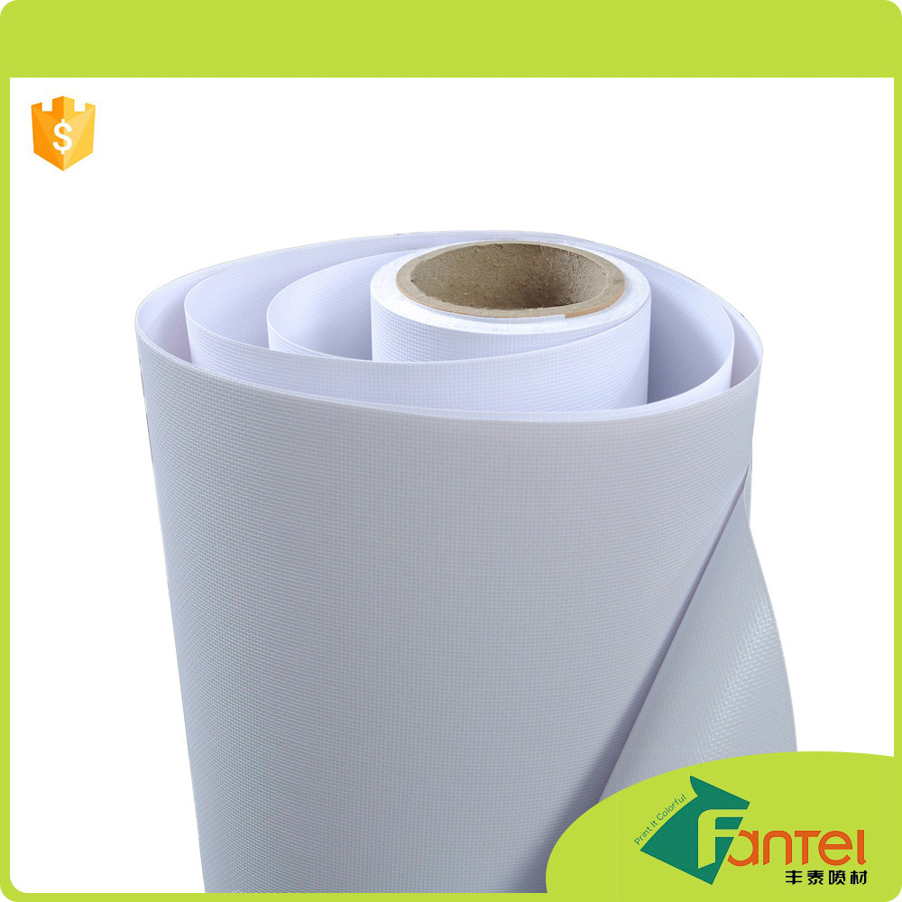 440gsm 500D*500D 9*9 polyester front and back cover