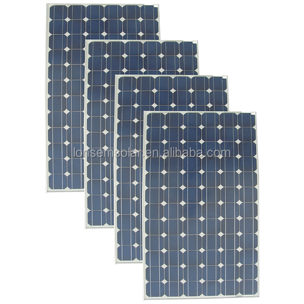 330 Watt 350Watt Solar Panels Monocrystalline Silicon PV With Solar Cells Price List 330W 350W System Kit Manufacturers China