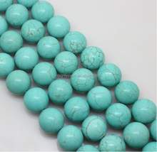 8mm wholesale price good quality Natural turquoise beads