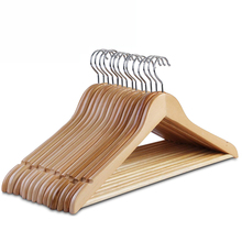 wholesale hot sale classical garment use hotel use Wholesale Durable Hanger, Bulk Wooden Coat Hanger Cintre for Hotel WIP