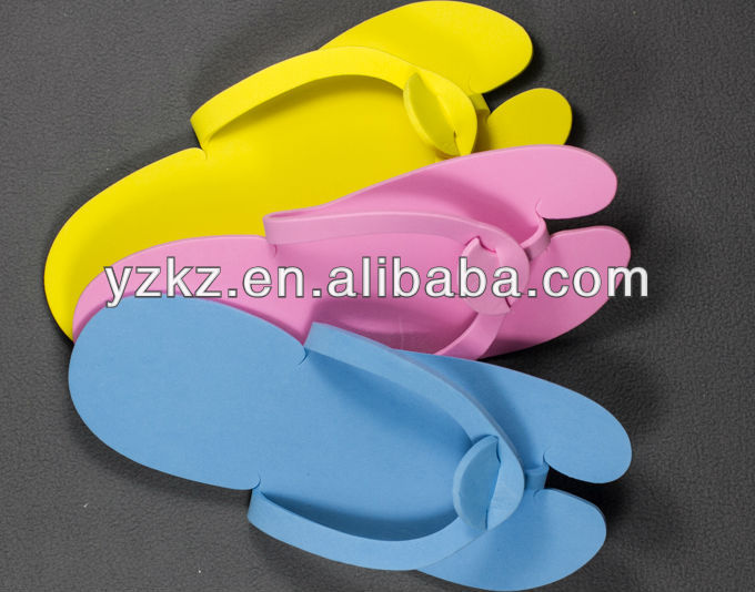 Colorful EVA flip flops slippers for sandy beach