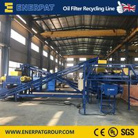 Top Quality Oil Filter Recycling Line