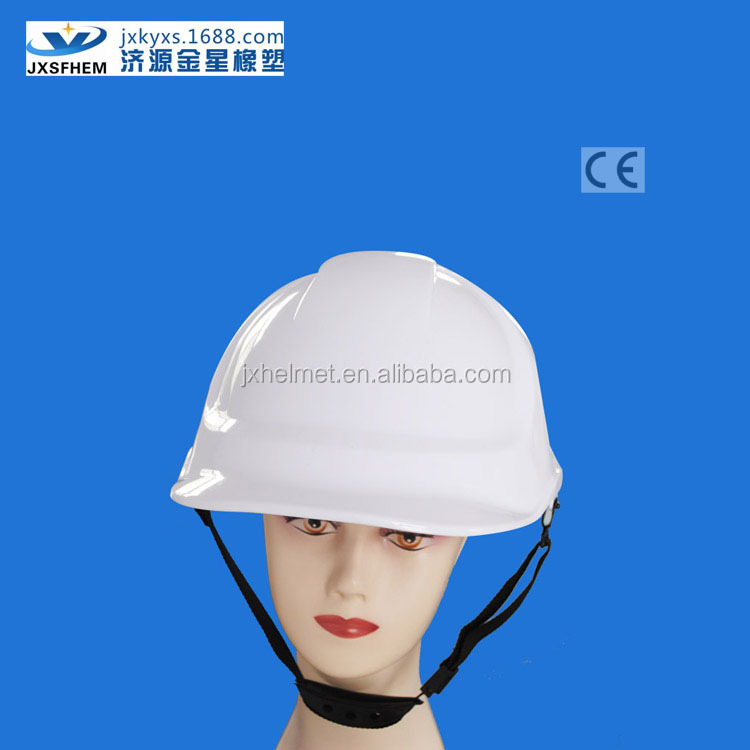 White industrial / construction safety helmet uk HDPE material