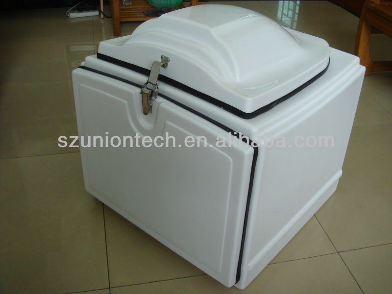 Uniontech Motorcycle Delivery Box,Fiberglass Pizza Delivery Box