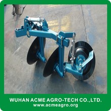 Hot sale types of disc plough 3 disc plough for walking tractor