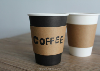 Environmentally friendly hot coffee cups single wall style paper cups PLA cups