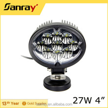27W Oval Car LED Tuning Light/ Led Work Light