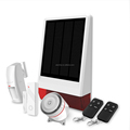 Home Solar Kit Outdoor Security GSM Alarm Solar Power Alarm System YL-007SGS