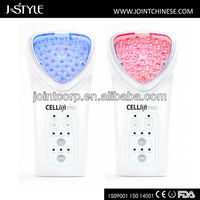 Multifunctional chargeable ionic led facial high radio frequency machine