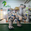 Customized Inflatable Moving Cartoon Models, Walking Inflatable Dinosaur Hongyi Toys