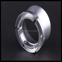 Metal / Plastic cnc lathe turning rapid prototype spare parts
