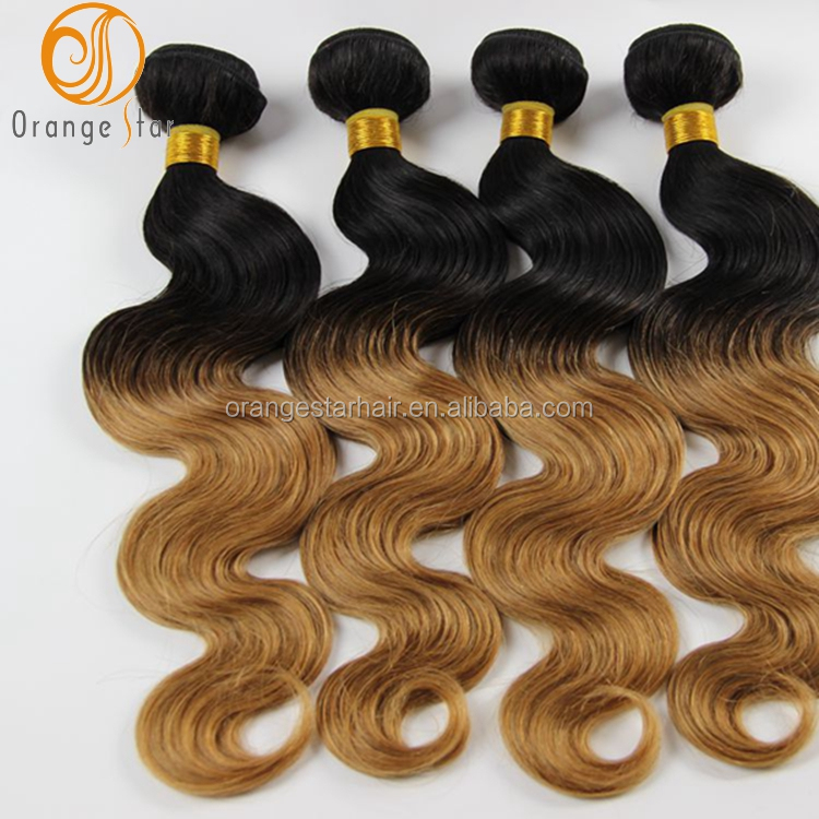 <strong>Black</strong> And Blonde Unprocessed Brazilian Hair Wholesale In Brazil ,Virgin Brazilian Hair Bundles