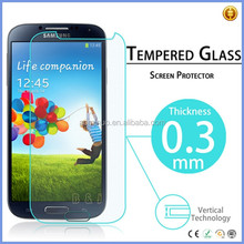 Accept Paypal payment 0.33mm 9H 2.5D tempered glass screen protector for Samsung S4 mobile accessory