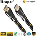 HDMI 2.0 Cable 6 Feet Supports Ethernet, 2160P, 4k, 3D, 24K Gold Connector, Zinc Metal Alloy Shielding Shell, Braide cord