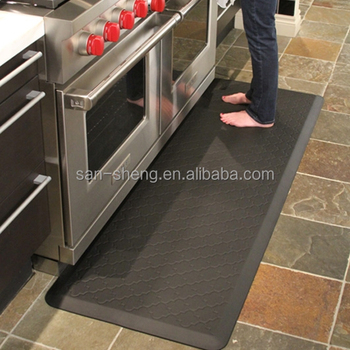 Waterproof Custom Comfort Kitchen Floor Standing Anti Fatigue Mats