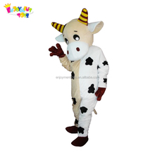 Enjoyment CE Adults milk cow mascot costume cosplay costume for sale EM-159