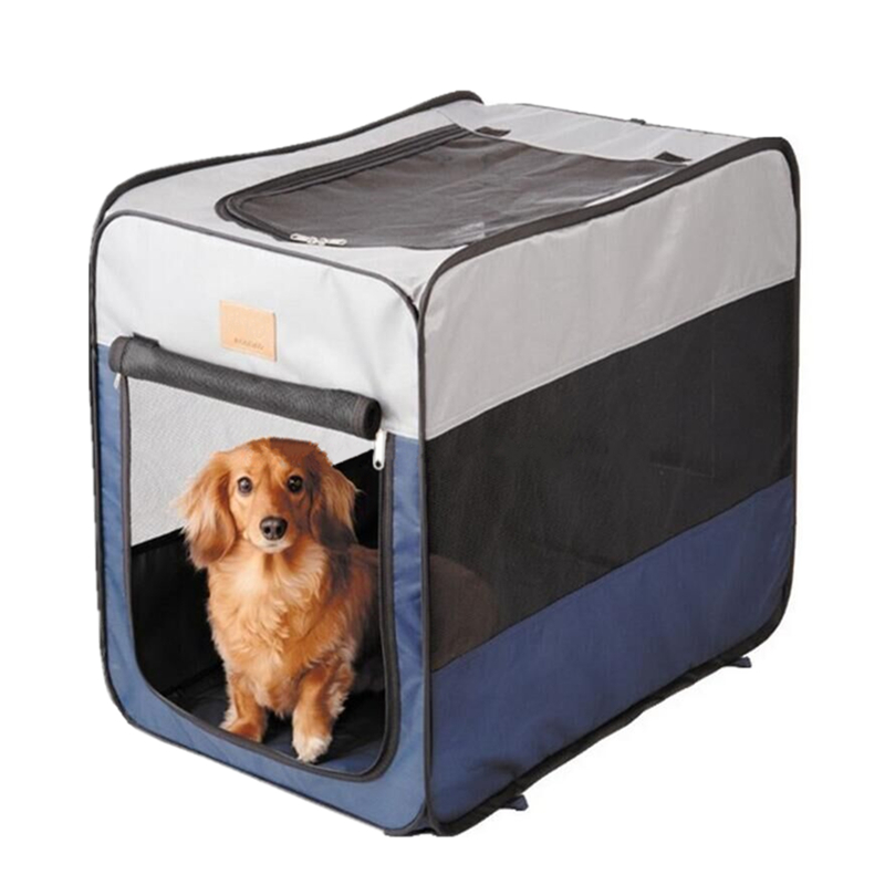 Pet Products Pet Carriers W/ Fleece Bed For Dog & Cat