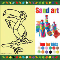 sand art pictures for boys and girls