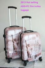 High Quality OEM Print PC/ABS Luggage