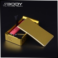 S-body wholesale 50w vv mod electronic cigarette vapor box mod magnetic battery cover