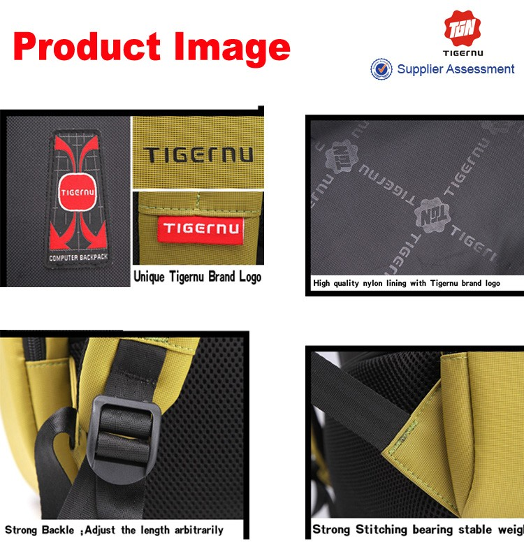 Wholesale Tigernu Brand Fashion Bagback For Men Anti-theft ...