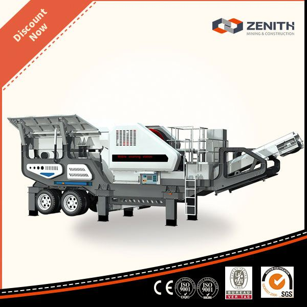 Newly designed stone crusher plant,Low Invest portable mobile crushing