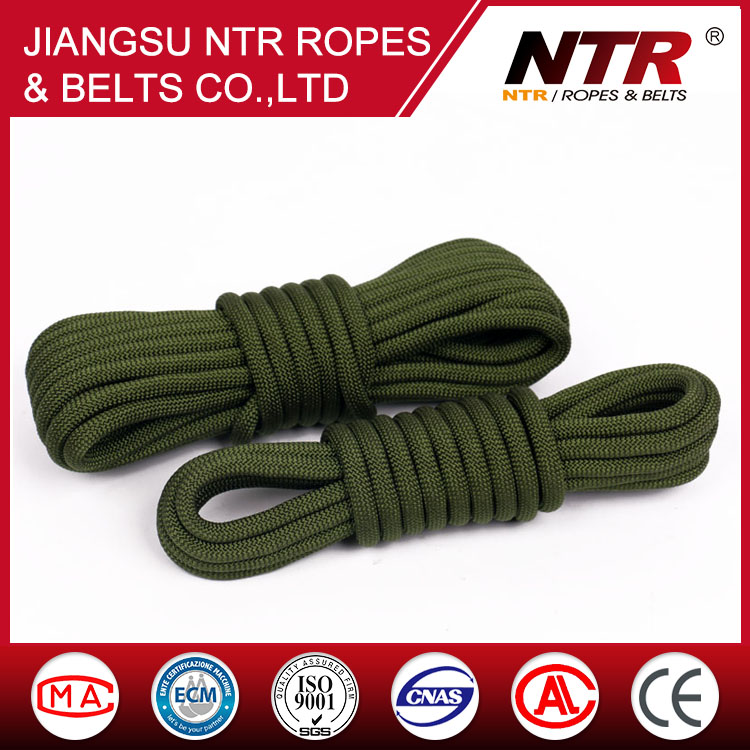 NTR durable emergency escape color nylon Military fire safety rope