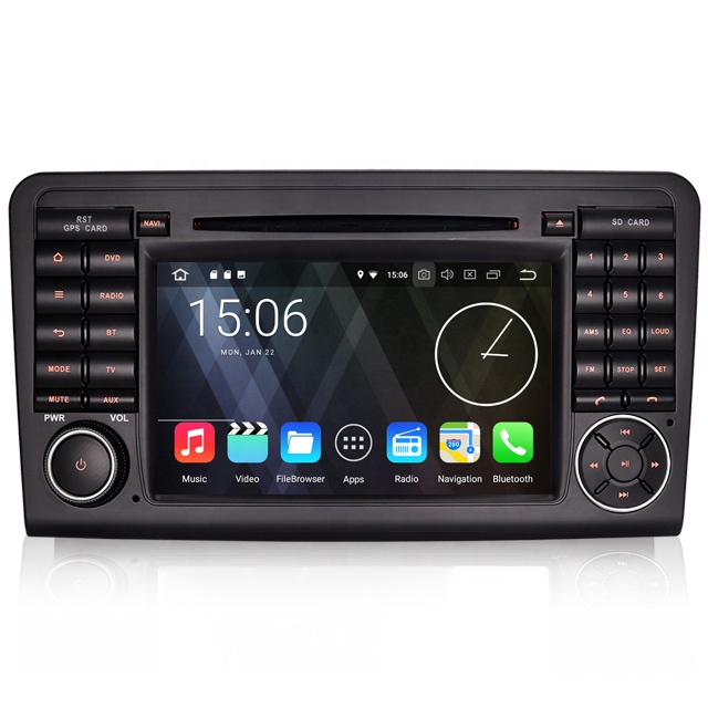 Erisin ES3661L <strong>Android</strong> 8.1 4G WiFi DAB TPMS GPS car dvd player radio for Benz