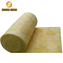 Thermal conductivity fireproof fiber glass wool insulation