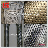 direct factory of perforated metal mesh filter tubes