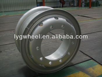 7.50-20 steel wheel, auto spare parts, wheel for 10.00-20 tire