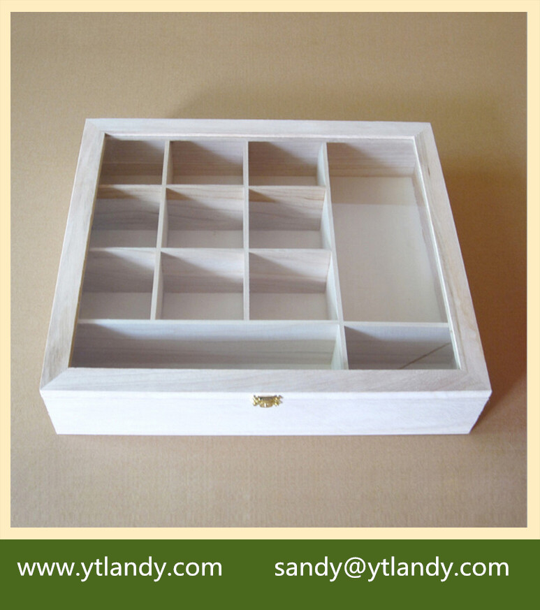 wholesale leather wooden jewelry display box