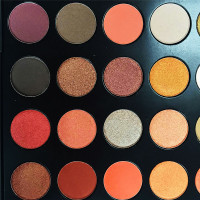 palette eyeshadow 35 warm color eye shadow eyeshadow palette