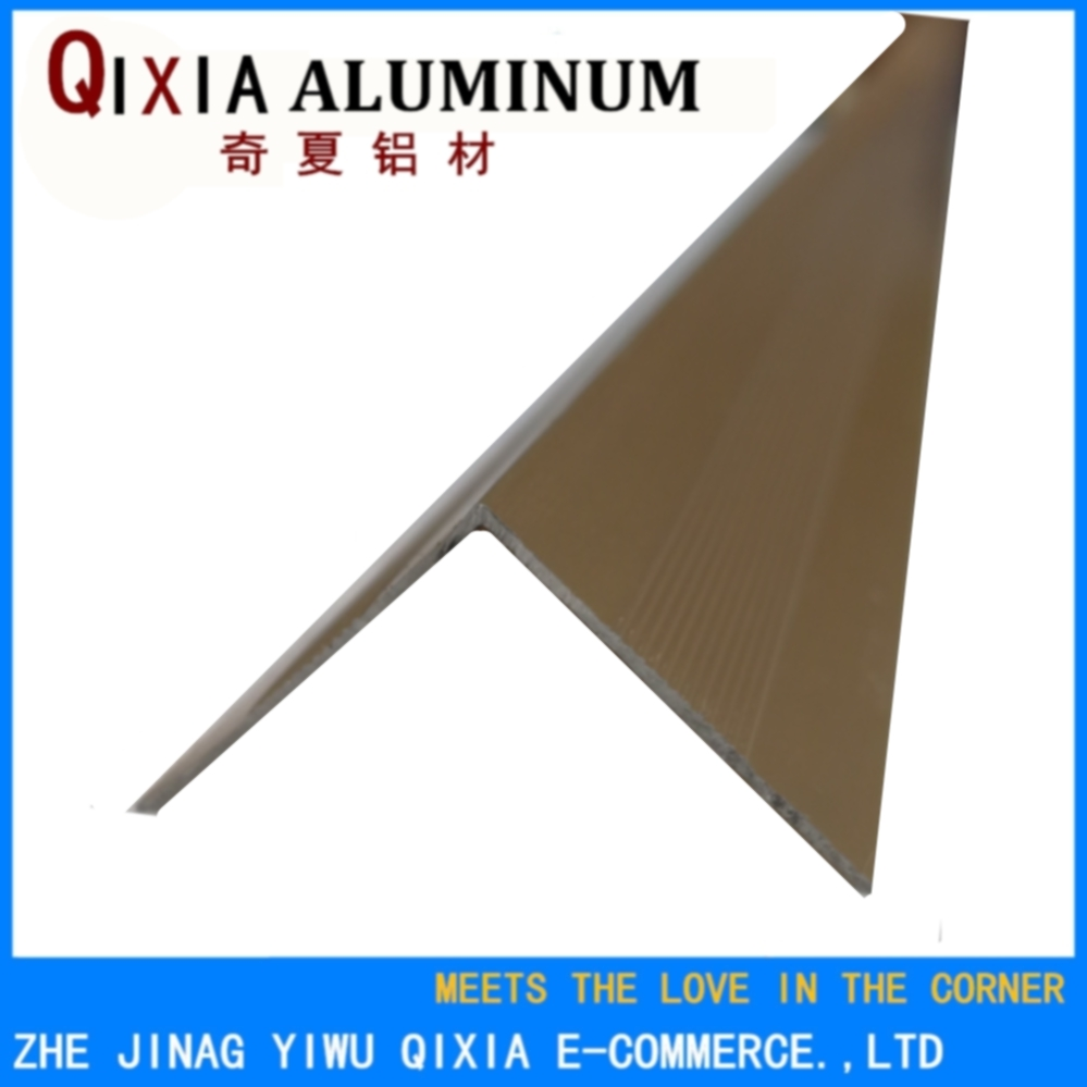 Laminate stair anti-slip full aluminium alloy stair nosing trim
