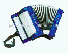 9key 2bass 18 tone child piano accordion(many colors available)