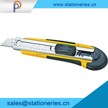 2016 Promotional box cutter auto retractable safety utility knife