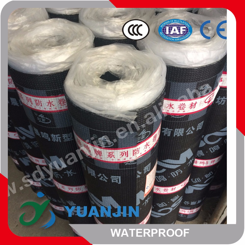 2m width Fiberglass reinforced Polyester based waterproofing solutions