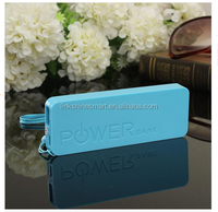 New arrival 2016 new design small portable charger power bank 2600mah