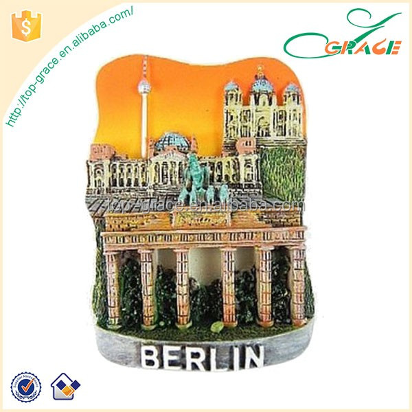 berlin brandenburger tor reichstag dom germany magnet poly